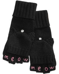 Kate Spade | Meow Pop-top Mittens | Lyst