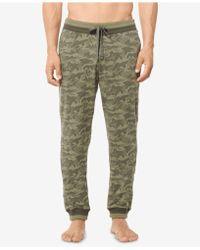 Michael Kors - Jacquard Camo Pajama Pants - Lyst