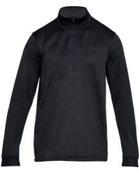 Under Armour - Armour Fleece Half-zip Top - Lyst
