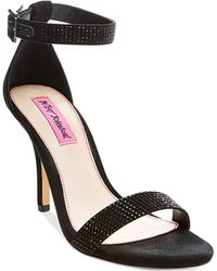 Betsey Johnson - Brodway Two-piece Dress Sandals - Lyst