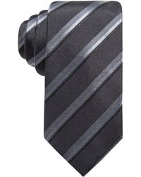 Alfani   Men's Stripe Slim Silk Tie, Created For Macy's   Lyst