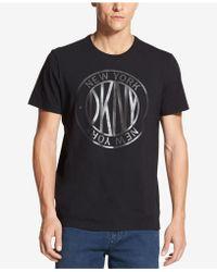 DKNY - Graphic-print T-shirt - Lyst