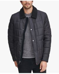 Marc New York - Puffer Jacket With Fleece Lining - Lyst
