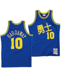 9ee7eb24a07 Mitchell & Ness - Tim Hardaway Golden State Warriors Chinese New Year Swingman  Jersey - Lyst