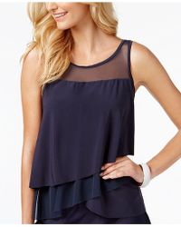 Miraclesuit - Illusionists Mirage Tiered Tankini Top - Lyst