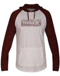 Hurley - One And Only Box Inspired Hooded Knit T-shirt - Lyst
