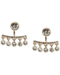 Ivanka Trump - Crystal Floater Earrings - Lyst