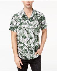 Guess - Marker Palm-print Shirt - Lyst
