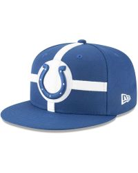 pretty nice df5c6 ddcc4 KTZ Indianapolis Colts Original Fit 9fifty Snapback Cap in Red for Men -  Lyst