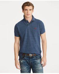 b965a24c Polo Ralph Lauren Custom Slim-fit Mesh Polo Shirt in Orange for Men ...