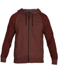 Hurley - Bayside Zip-up Fleece Hoodie, Created For Macy's - Lyst