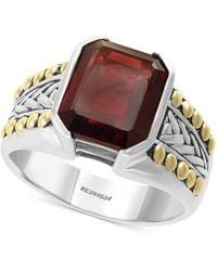 Effy Collection - Rhodolite Garnet Ring (6-3/8 Ct. T.w.) In Sterling Silver & 18k Gold - Lyst