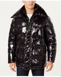 INC International Concepts - Glossy Oversized Puffer Coat, Created For Macy's - Lyst