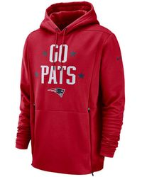 4a203dc31e8de2 Lyst - Nike Oakland Raiders Sideline Player Local Therma Hoodie in ...