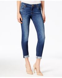 Kut From The Kloth - Catherine Boyfriend Cuffed Jeans - Lyst