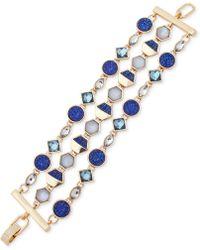 Ivanka Trump   Gold-tone Three-layer Stone Link Bracelet   Lyst