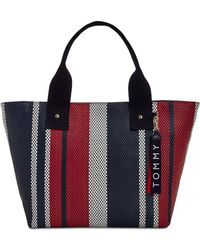 Tommy Hilfiger - Classic Tommy Woven Tote - Lyst
