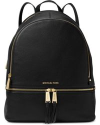 Michael Kors - Michael Rhea Pebble Leather Backpack - Lyst