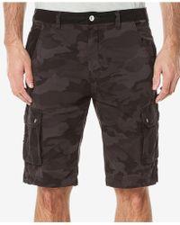 Buffalo David Bitton - Colorblocked Cargo Shorts - Lyst