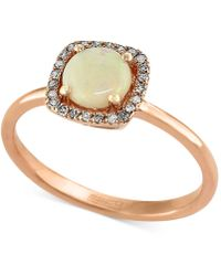 Effy Collection - Opal (3/4 Ct. T.w.) And Diamond Accent Ring In 14k Rose Gold - Lyst