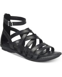 Born - Giverny Flat Sandals - Lyst