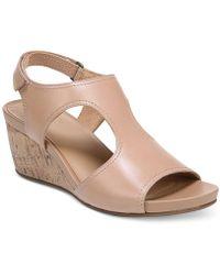 Naturalizer - Cinda Wedge Sandals - Lyst