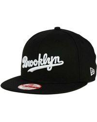 KTZ - Brooklyn Dodgers B-dub 9fifty Snapback Cap - Lyst