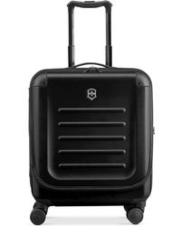 """Victorinox - Suitcase, 21"""" Spectra 2.0 Rolling Hardside Extra Capacity Dual Access Carry On Spinner Upright - Lyst"""