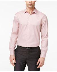INC International Concepts - Men's Kurt Non-iron Shirt - Lyst