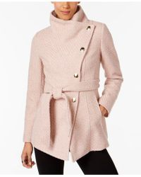 INC International Concepts - I.n.c. Textured Wrap Coat, Created For Macy's - Lyst