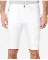Buffalo David Bitton - Parker-x White Denim Shorts - Lyst