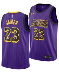 09f7a8f00 Lyst - adidas Men s Steve Nash Los Angeles Lakers Swingman Jersey in ...