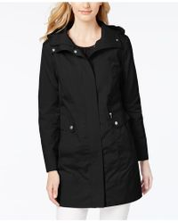 Cole Haan - Petite Signature Packable Raincoat - Lyst