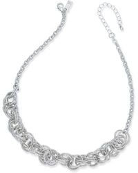 INC International Concepts - Multi-ring Statement Necklace - Lyst