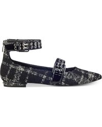 Marc Fisher - Alen Two-strap Flats - Lyst