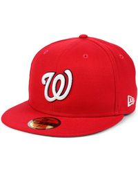 best sneakers d7f19 95f02 KTZ - Washington Nationals Opening Day 59fifty-fitted-fitted Cap - Lyst