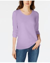 Maison Jules - Scoop-neck Top, Created For Macy's - Lyst