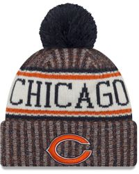 46ce75634 Lyst - Ktz Chicago Bears Classic 39Thirty Cap in Black for Men