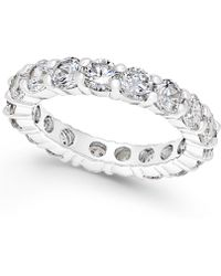 Charter Club - Crystal All-around Ring - Lyst