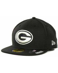 6cd3c88de Lyst - Ktz Green Bay Packers On-field Dog Ear 59fifty Cap in Green ...