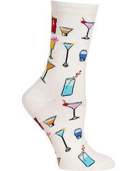 Hot Sox - Socks, Tropical Drinks Trouser - Lyst