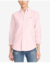 Polo Ralph Lauren - Long-sleeve Oxford Shirt - Lyst