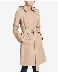 CALVIN KLEIN 205W39NYC - Double-breasted Waterproof Trench Coat - Lyst