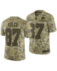 7435e7d6785a2 Nike - Travis Kelce Kansas City Chiefs Salute To Service Jersey 2018 - Lyst