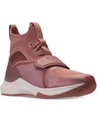 Lyst - Puma Women S Classic Wedge Casual Sneakers From Finish Line ... 8147af051