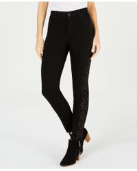 Style & Co. - Studded Ankle Skinny Jeans, Created For Macy's - Lyst