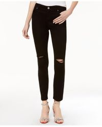 INC International Concepts - Ripped Skinny Jeans - Lyst