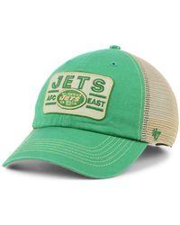huge discount cf896 a1ca3 ... clearance 47 brand new york jets sallana mesh clean up cap lyst 3c897  40163