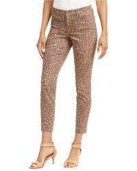Style & Co. - Curvy-fit Skinny Printed Jeans, Created For Macy's - Lyst