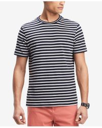 Tommy Hilfiger - Earl Striped T-shirt, Created For Macy's - Lyst